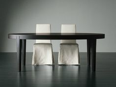 Extending dining table POWER by Meridiani