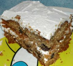 A and P Spanish Bar Cake recipe.  Oh goodness!  I loved this cake when I was a young girl!  You can get it over the counter now, but it isn't the same.  The new ones are very dry.  The ones we had years ago were so moist and delicious.  Going to try this recipe.