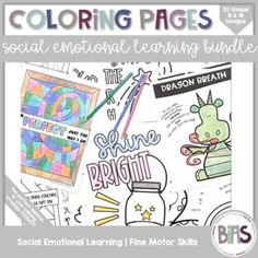 Social-emotional learning is important for all children. Help students practice using their growth mindset, positive affirmations, and mindful breathing strategies in a fun, engaging way.Coloring is a great way to introduce a new concept, take a brain break, or reward a job well done.Product Informa...