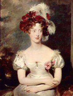 Maria Carolina of Bourbon-Sicily, Duchesse de Berry by Sir Thomas Lawrence, 1825