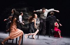 Free rain: Pina Bausch's Vollmond at Sadler's Wells - in pictures