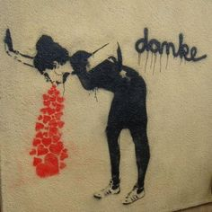Thanks - for nothing. #streetart