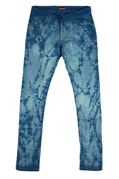 You oughta know about Self Edge custom tie dye jeans