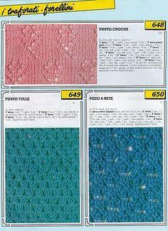 Collezione punti ai ferri 9 / Knitting stitches collection 9