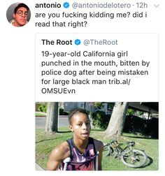 """Racist police officers can go fuck themselves. And fucking die. Bye bastards<<<yes and wTF? """"Oh I mistook her for a black man"""" ? Prison, Intersectional Feminism, Equal Rights, Faith In Humanity, Social Issues, Social Justice, In This World, Equality, Just In Case"""