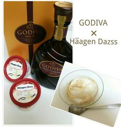 GODIVA × Haagen Dazss