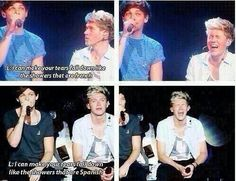 I love how Niall laughs at EVERYTHING LOUIS DOES... It makes me happy :):)