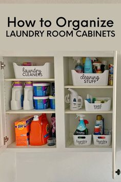 How To Organize Laundry Cabinets - # you . - How To Organize Laundry Cabinets – organize - Laundry Room Remodel, Laundry Decor, Laundry Room Design, Laundry Room Cabinets, Laundry Room Organization, Bathroom Storage, Laundry Rooms, Mud Rooms, Laundry Storage