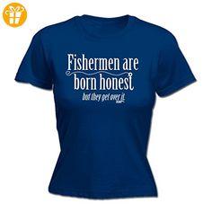 Drowning Worms  Damen T-Shirt Gr. XX-Large, Blau - Navy - Shirts mit spruch (*Partner-Link)
