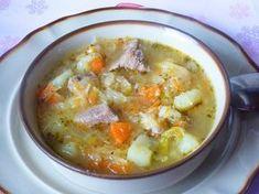 Bardzo smaczny kapuśniak, polecam. Soup Recipes, Diet Recipes, Cooking Recipes, Healthy Recipes, Polish Soup, European Dishes, Brunch, Polish Recipes, Frugal Meals