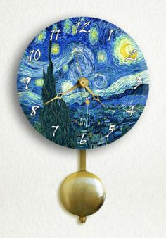 45a23e9c1cd Pendulum clock in. Karla Orozco · Starry Night
