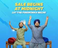 India's Biggest Sale Big Billion Days Starts at Midnight-Get. Set. Shop!-20-24 Set2017  Flipkart's Biggest Indian Sale with Exclusive Offers  The Big Billion Days  Ab Mehengaai Giregi!  Diwali Navratra Special- Big Billion Days - Full of Offers and Discounts by Flipkart - 20-24Sept2017  Disclaimer - All the products and all the information related to them like release date-time available time-date for purchase all offers discounts information etc. are solely right and discretion of the…