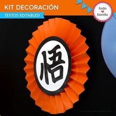 Dragon Ball: kit decoración