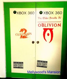 Mellywood's Mansion a Diary of DIY Delights & Disasters: Ultimate closet doors for gamers!
