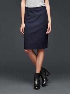 pencil skirt- GAP