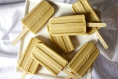 butterscotch. pudding. popsicles. by smitten, via Flickr