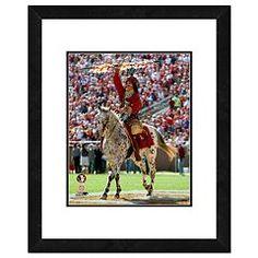 "Florida State Seminoles Mascot Framed 11"" x 14"" Photo"