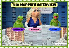 My First Muppets Interview – Kermit, Miss Piggy and Constantine Spill the Beans #MuppetsMostWantedEvent