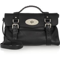 Mulberry The Alexa textured-leather satchel found on Polyvore