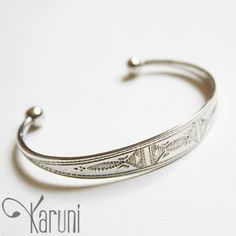 Bijoux Touareg Ethniques Bracelet en argent enfant 05 - KARUNI