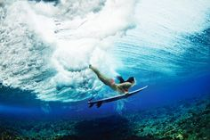 Live the Search. A beautiful underwater shot by @Stuart Gibson of Tyler Wright on location in Fiji. #MyBikini