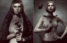 THE CULT – Dark Beauty Magazine – Editorial  Photographer > Meiji Nguyen Art Director | Stylist > Ade Lau Producer | Make-up Artist > Fitria Adiwibowo Hair | Head Pieces > Simone Lee Model > Tasha Crosbie @ Scene Model Management