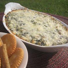 artichoke amp spinach dip restaurant style recipe allrecipes com