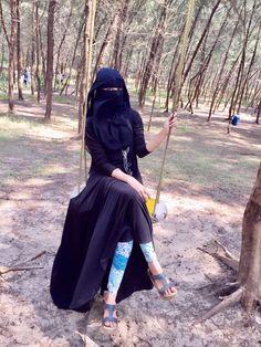 Perfect Sexy Body Under Hijab