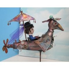 Rachel's Flying Machine with Susan Barmore, Cloth and Mixed Media Artist - Online Classes - Classes