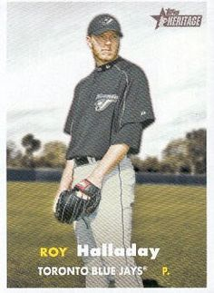 2006 Topps Heritage Baseball #416 Roy Halladay MLB Trading Card by Topps Heritage. $1.99. 2006 Topps Co. trading card in near mint/mint condition, authenticated by Topps Collectibles