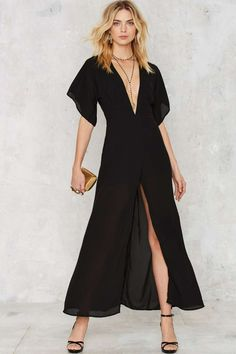Gown Your Sorrows V-Neck Dress - Clothes | Going Out | Midi + Maxi | LBD | Party Clothes | All Party