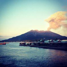 桜島フェリーターミナル / Sakurajima ferry terminal