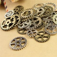 Choosing wholesale  105 piece Mixed Vintage steampunk Charms Gear Pendant Antique bronze Fit Bracelets Necklace DIY Metal Jewelry Making A3845 online? DHgate.com sells a variety of Charms for you. Buy now enjoy cheap price.