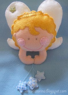 Felt angel #angel #winter #christmas #felt #DIY