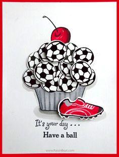 Hey, Cupcake! - Soccer Cupcake
