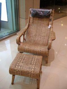 *綠意家具生活館*SH-313㊣台灣手工竹編藤-2件式躺椅 - Yahoo! 奇摩拍賣