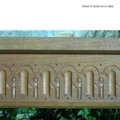 carved rail