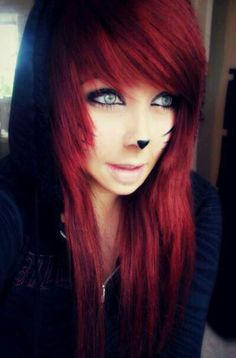 Most current Free red Scene Hair Style Finding landscape hairstyles that are in. - Most current Free red Scene Hair Style Finding landscape hairstyles that are interesting and not c - Leda Muir, Scene Girls, Emo Scene, Indie Scene, My Hairstyle, Pretty Hairstyles, Scene Hairstyles, Wedding Hairstyles, Punk