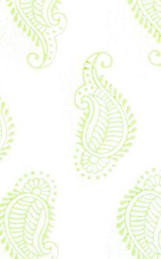rikshaw design - taj fabric green