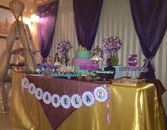 Jasmine e Aladdin by Sweet Galante. Decoração da Sweet Galante para a festa Jasmine e Aladdin.