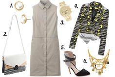 SimplyQ: One Dress, 3 Ways: UNIQLO's Broadcloth Sleeveless Shirt Dress