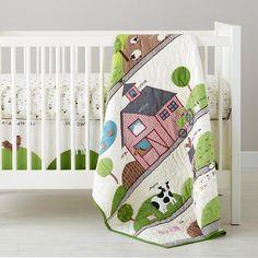 Baby Bedding: Farm Animal Crib Bedding in Crib Bedding