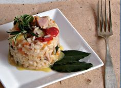 Cucinare che Passione: Risotto con verdure al profumo di mare
