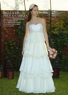 "Wedding dress from bride's magazine ""Revista del Mundo de las Novias"" #wedding #dress #weddingdress #bride #ceremony #marriage #married"