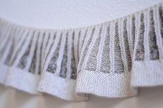 Ravelry: amiijjang's Spectra. Inspiration: The stitch pattern