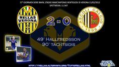 Hellas Verona-Ascoli 2-0, Serie Bwin www.hellasveronastyle.eu