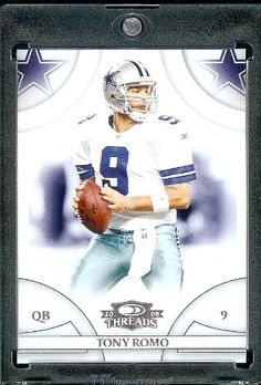 2008 Donruss Threads (Football) 138 Tony Romo QB - Dallas Cowboys - NFL Trading Card ** This is an Amazon Affiliate link. Continue to the product at the image link.