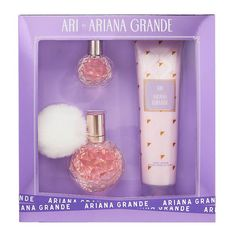 Ari Perfume, Perfume Gift Sets, Perfume Bottles, Ariana Grande Body, Ariana Grande Fragrance, Ariana Merch, Lotion, Nyx Lipstick, Makeup Items