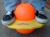 Pogo ball.  I couldn't do this either...