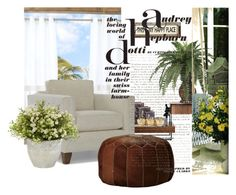 """Home Cozy"" by sophiajamdown on Polyvore featuring interior, interiors, interior design, home, home decor, interior decorating, Parasol, Lazy Susan, Mitchell Gold + Bob Williams and Poncho & Goldstein"